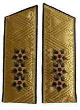 Soviet 3-star Navy Admiral parade shoulder boards