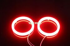 2pcs 90mm Cotton Angel Eyes Halo Ring RED SMD Light Lamp LED Cover G194