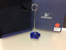 Swarovski Figur Kartenhalter Blau. mit Ovp und Zertifikat ! Top Zustand