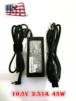 Genuine OEM HP Pavilion 45W 19.5V 2.31A AC Adapter Power Charger Laptop Cord NEW