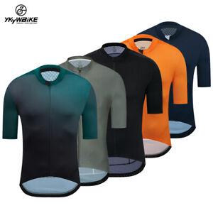 YKYWBIKE Pro Cycling Jersey Seamless Technology Summer Bicycle Clothing Shirt