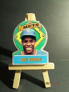 1991 Topps Supports Transparent Variante #15 Dwight Gooden