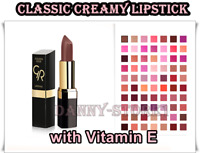 Golden Rose Classic Creamy Lipstick Enriched with Shea Butter & Vitamins Shades