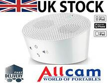 Aves Aqua Bluetooth Wireless Portable Speakers White iPod iPad iPhone 5 Galaxy