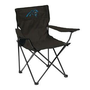 Logo Brands Carolina Panthers Quad Chair NFL TRAVEL TAILGATE