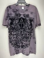 Affliction Short Sleeve T-Shirt Mens Purple Size M