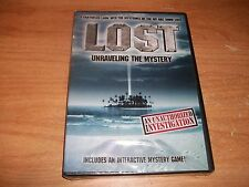 Lost: Unraveling the Mystery An Unauthorized Investigation (DVD, 2010) Game NEW