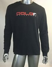 NWT Vintage 90's Spell out, Rugby, Long Sleeves, Col Black, Size Large