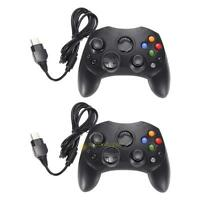 2 X Dual Shock Wired Game Controller Game Pad For Microsoft Original Xbox NEW !