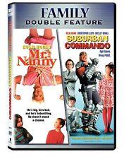 MR NANNY / SUBURBAN COMMANDO - HULK HOGAN DOUBLE DVD R1