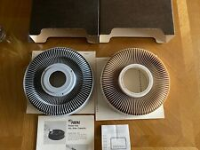 Rotary slide carousal for slide projectors with cardboard storage case Lot 2