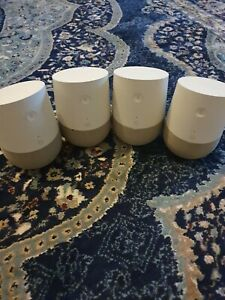 4x Google Home Voice Activated Wireless Bluetooth Speaker With Demo mode units