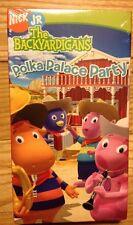 SEALED!! The Backyardigans - Polka Palace Party (VHS, 2006) Nick Jr.