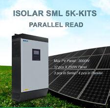 5KVA Solar Inverter Parallel Kits Ready 4000W 48V 230V Pure Sine Wave Hybrid