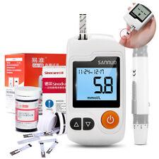 Sannuo GA-3 Blood glucose monitor kit meter&50 strips&Lancets&swabs for diabetes