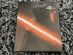 Star Wars The Force Awakens Blu-ray 2016 Steelbook w/ Special Features