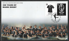NEW ZEALAND 2010 MAORI RUGBY CENTENARY 2v FDC
