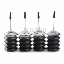 Lot of 4 Pcs 4x30mL Bulk Ink Cartridge Black Refill Kits For HP & Canon Printers