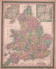 ENGLAND, COWPERTHWAIT MAP, ANTIQUE, ORIGINAL 1850*