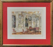 """The Music Salon at Sanssouci, Potsdam by James Steinmeyer"""