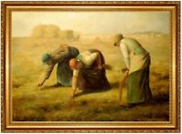 Ölbild Ährenleserin Jean Francois Millet Gemälde handgemalt signiert F:60x90cm