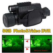 Tactical IR Infrarot Nachtsicht Monocular Scope 200m 5X40 Zoom Rekord DVR Pics O