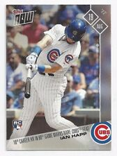 2017 Topps Now IAN HAPP 18th HR in 80th Game Cubs Feat RC #497 (8/19/17) PR=636