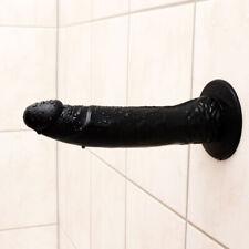Dildo So Real mit Saugnapf Penis Nachbildung Naturdildo Sexspielzeug Schwarz