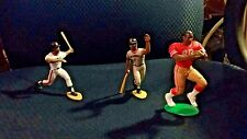 Baseball Action Figures, Rice, McCovey and Mays Loose