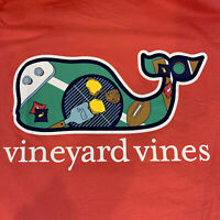 Vineyard Vines Men's S/S Pocket T-shirt Sz 2XL Tailgate Whale Fill- NEW TAGS