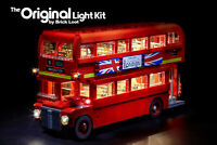 LED Lighting kit for LEGO ® London Bus set 10258 - SHIPS FROM USA
