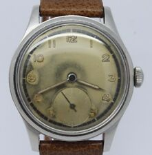 VINTAGE 1940's Omega Suveran Mens 35mm Steel Manual Watch ORIGINAL DIAL 30T2PC