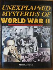 UNEXPLAINED MYSTERIES OF WORLD WAR II, JACKSON