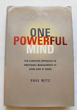One Powerful Mind : The Complete Approach to Emotional Management SIGNED
