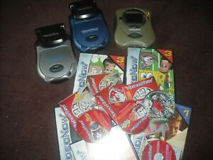 Video Now Video Players and Tons of Games Spongebob Nickeloden Wow Great Lot