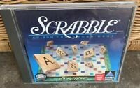 Scrabble CD-ROM Crossword Game (Win 3.1 Win 95 Mac, 1996) Very Good PC Computer