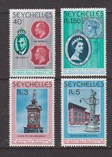 QEII 25th Anniversary Coronation 1978 MNH Stamp Set Seychelles SG 428-431