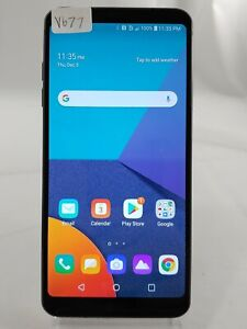 """LG G6 H871S 32GB AT&T GSM Unlocked 5.7"""" Android Smart Cell Phone Black V677"""