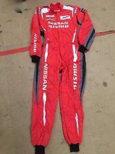 SPARCO Motorsport Mens WEC Mechanics overalls Size 64 Nissan NISMO GT-R Red FIA