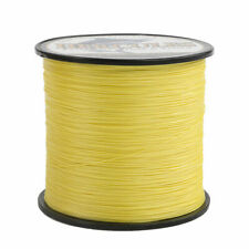 Hercules 300M - 1000M Yellow 4 8 Strands Braided Fishing Line Saltwater 10-300Lb