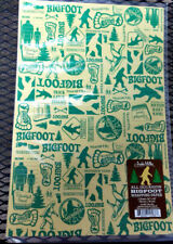 "New! Bigfoot theme Gift Wrap 2 sheets per pack 20""x30"" - good for any occasion !"