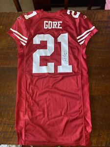 Frank Gore Signed 2009 Game Issued San Francisco 49ers Jersey Psa Dna Coa
