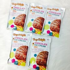 New Rival FROZEN DELIGHTS Chocolate Ice Cream Mix, 8 oz (5 Packs)