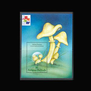 Antigua, Sc #2433, MNH, 2001, S/S, Mushrooms, Fungi, Agriculture, SHD-I