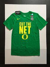 "Nike Oregon Ducks ""Cut The Net"" 2017 Final Four NCAA Green T-Shirts Mens  XL"