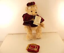 Hermann Bear Her majesty Queen's 2006 Teddy Plush 16 1/2in New 80 Pièces