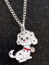 "CUTE 101 Disney Girls Charm Necklace 16"" Silver Plated Chain Gift Bag"