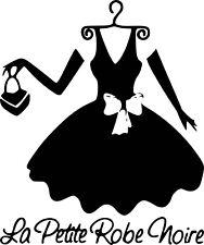 Sticker La Petite Robe Noire 57x69cm
