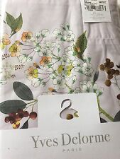 Yves Delorme LOUISE AMANDE King Superking FLAT Sheet