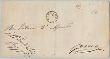 61440  - ITALIA REGNO - STORIA POSTALE :  BUSTA da ALBIOLO Como 1874